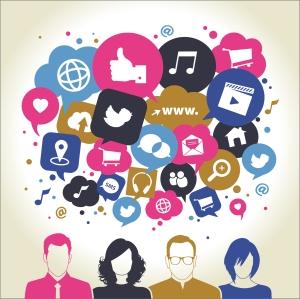 CV de l'avenir sur les médias sociaux