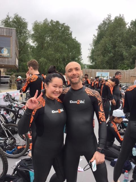 Christian et Anne Nguyen, l'autre ambassadrice canadienne Win4Youth