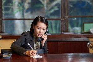 Journée des professionnels de l'administration : réceptionniste
